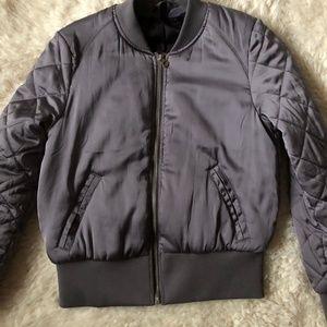 Purple Bomber Jacket